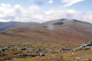 Góra Umarłych latem